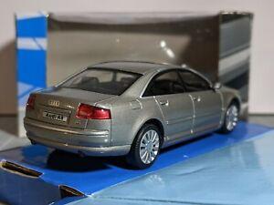 Audi A8 D3 Quattro Grey 1/43 HONGWELL CARARAMA Rare