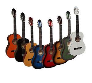 Gitarre-4-4-Konzert-Classic-Gitarre-verschiedene-Modelle-zur-Auswahl