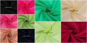 35eb75bf Indian Chanderi Silk Fabric Solid Luxury Sewing Dress Apparel Crafts ...