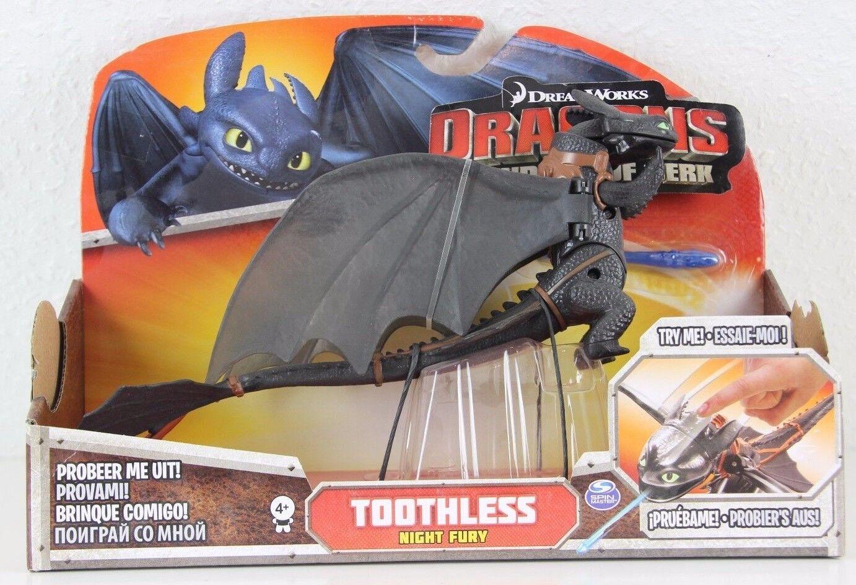 Toothless - Ohnezahn - rare Erstauflage Drachenzähmen Dragons Drachenreiter Berk