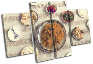 Arabic-Ramadan-Middle-East-Food-Kitchen-MULTI-CANVAS-WALL-ART-Picture-Print