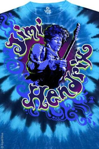 JIMI HENDRIX-HAZED-TIE DYE T SHIRT M-L-XL Are You Experienced Gypsies-RARE Lmtd