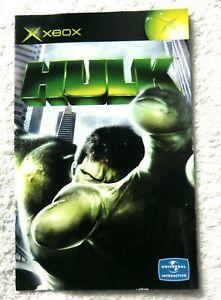 74223-Instruction-Booklet-Hulk-Microsoft-Xbox-2003