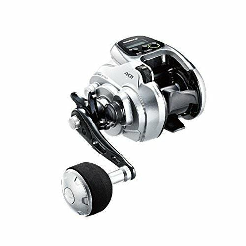 Shimano Force Master 401 (LEFT HANDLE) Lightweight Electric Reel  Japan new .