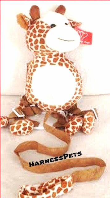 KIDS TODDLER BABY GIRAFFE SAFETY tether HARNESS BUDDY LEASH BACKPACK