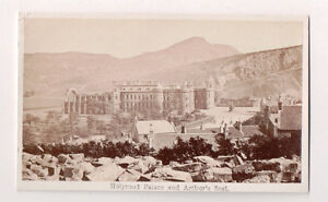 Vintage-CDV-Holyrood-Palace-Edinburgh-Scotland