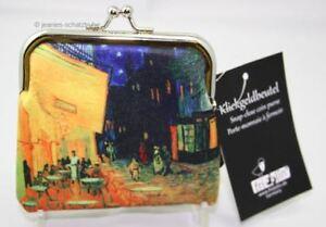 Klick-Geldbeut<wbr/>el / Portemonnaie / Geldbörse van GOGH Cafe de Nuit