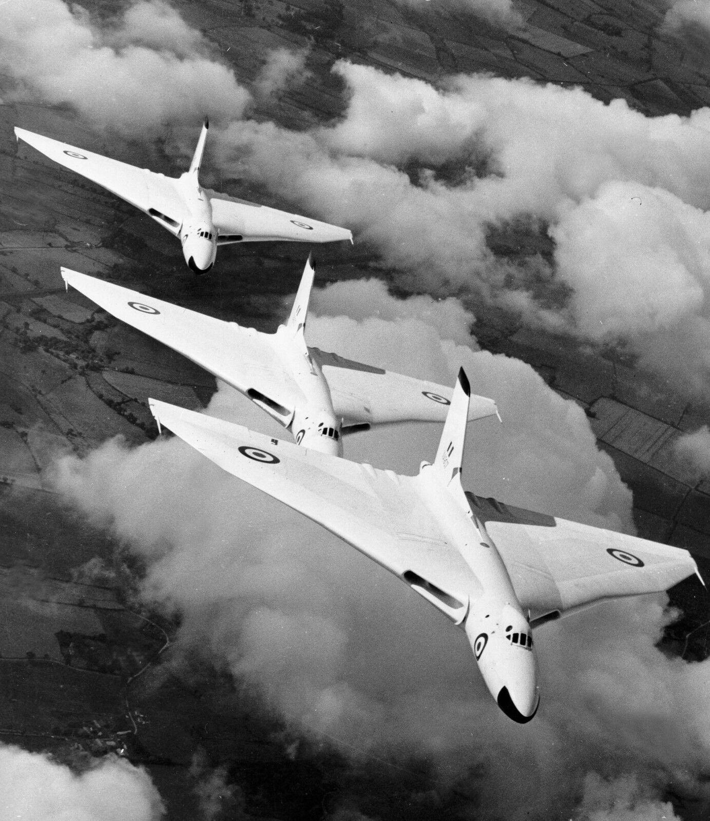1957 RAF VULCAN BOMBER AIRCRAFT  Photo Print