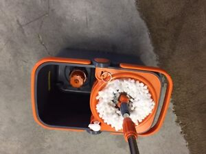 Casabella Spin Cycle Mop Hands Free With Extra Mop Head Ebay