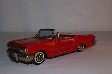 Haji, Made in Japan 1963 Chevrolet Impala Convertible Tin Friction Car, Original