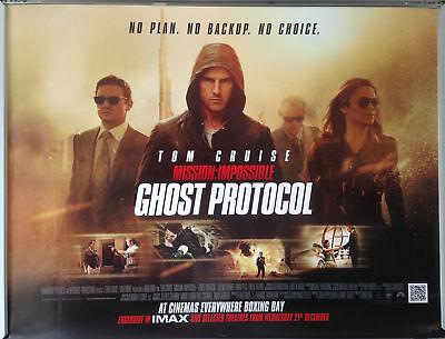 Cinema Poster Mission Impossible Ghost Protocol 2011 Hindi Quad Ebay