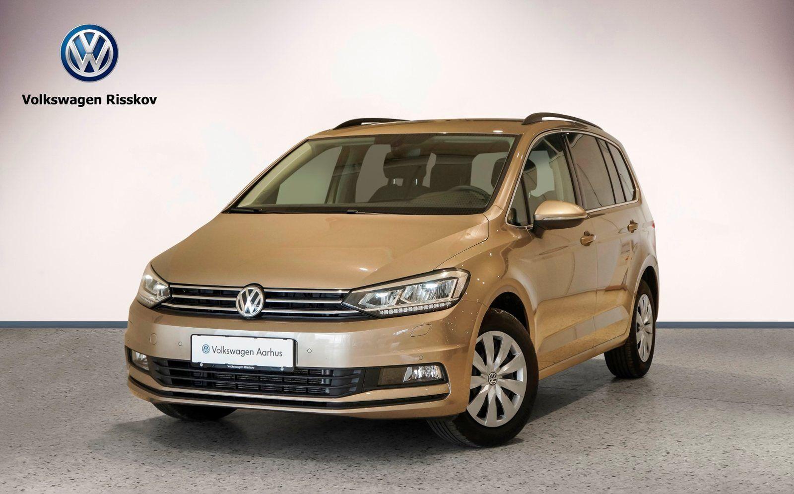 VW Touran 1,4 TSi 150 Comfortline DSG BMT 5d - 354.500 kr.