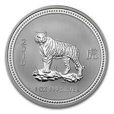 2010 1 oz Silver Lunar Year of the Tiger Coin (Series I)