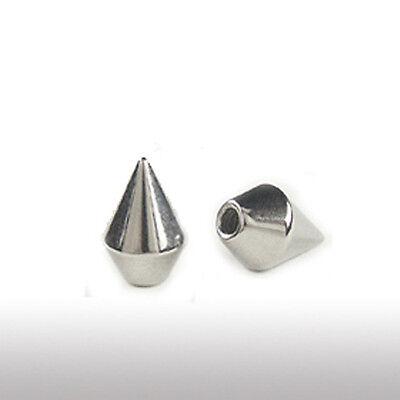 1,6mm Piercing Schraubkugel Speerspitzen Form Cone Lippe Ohr Brust Piercing