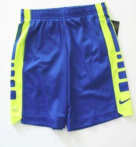 a5a203340f3c Image is loading Nike-Little-Boys-Elite-Shorts-Volt-Game-Royal-
