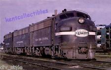 New York Central Engines  #1813  #1699  #1742  EMD F7A  1967 Postcard Train 9224