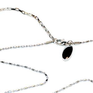 Energetix-4you-Magnetschmuck-Glieder-Edelstahl-Halskette-537-Uni-Silber