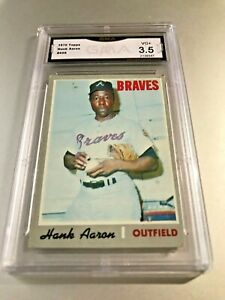 HANK-AARON-HOF-1970-Topps-500-GMA-Graded-3-5-VG