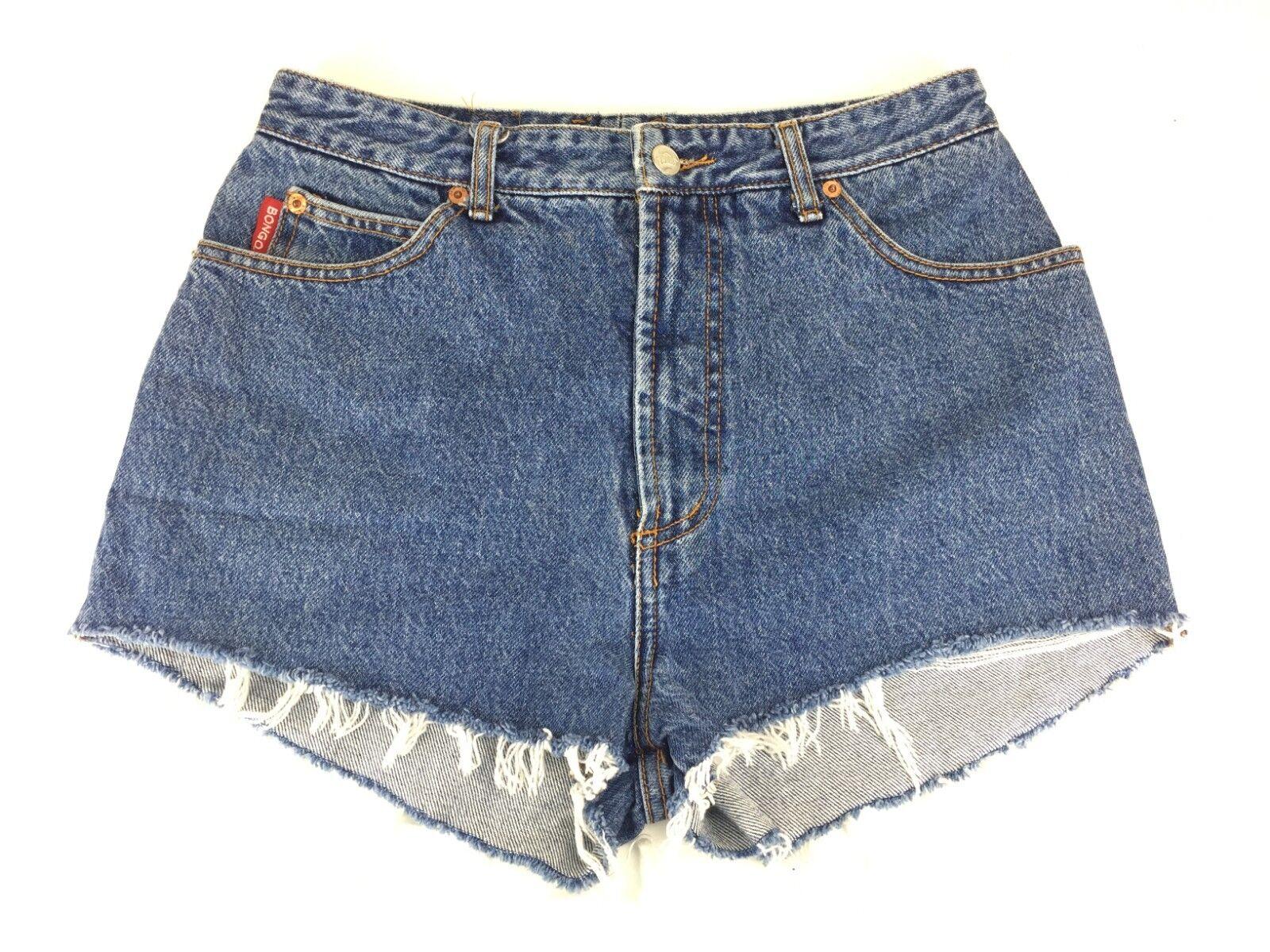 Vintage Bongo Jr's 13 Denim Shorts bluee