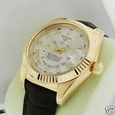 Rolex Sky Dweller 326138 Oyster Perpetual Yellow Gold Brand NEW Retail: $38,150
