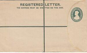 BURMA-1946-Postal-Stationery-Registered-Envelope-H-amp-G-C3-lighter-green-unused