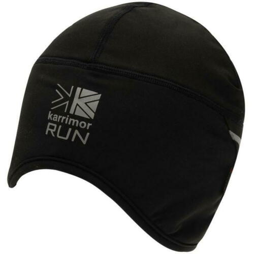 Homme Noir Karrimor Xlite Jogging Running Randonnée Thermique crâne chapeau