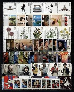 GB-2009-Commemorative-Stamps-Year-Set-Unmounted-Mint-no-m-s-UK-Seller