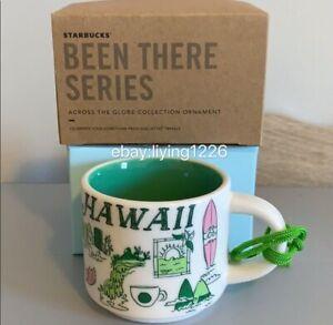 2ozDemitasse Starbucks HAWAII2018 Been There SeriesEspresso Mini Mug Ornament
