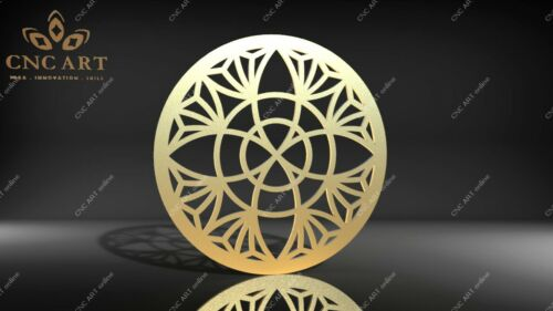 water jet laser Nice circle model DXF and EPS File CNC Plasma P141 Router