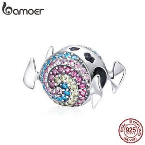 Bamoer-Shining-S925-Sterling-Silver-CZ-charm-Rainbow-sugar-Fit-Women-Bracelet