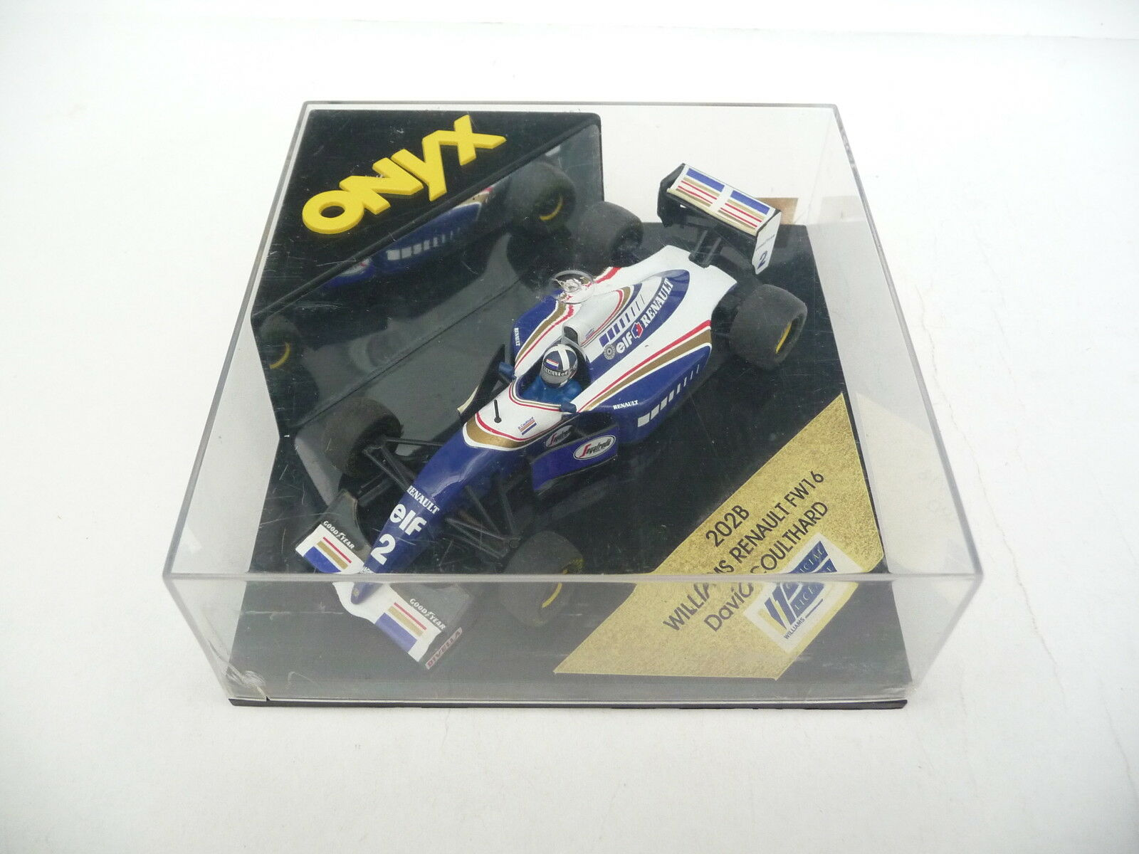 Onyx 1 43 Williams Renault FW16 Coulthard 202B