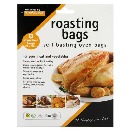 Micro Steam Bags Oven Liner Slow Cooker Liner Toastabags All Type Toastie Bags