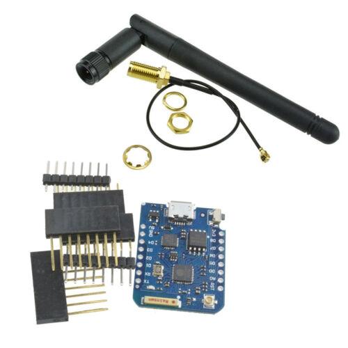 WEMOS D1 Mini Pro-16 Module+ESP8266 Series 2.4G WiFi Wireless Antenna Connector