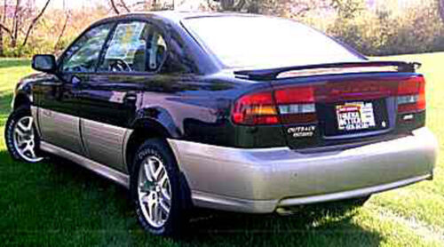 PAINTED TO MATCH SUBARU LEGACY 4-DOOR SEDAN CUSTOM STYLE SPOILER 2000-2004