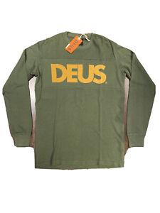 T-shirt-Deus-Ex-Machina-Brigate-Moto-Jersey-Taglia-L