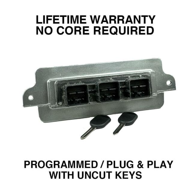 Engine Computer Programmed Plug&Play With Keys 2005 Ford