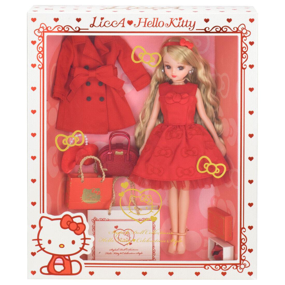 Takara Licca Hello Kitty SANRIO Celebration Style Rika stylish doll collection