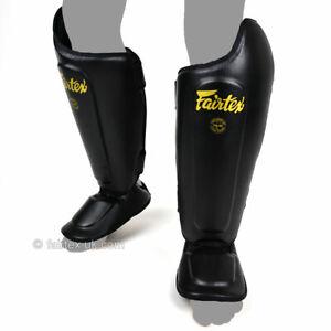 Fairtex-SP8-Ultimate-Schritt-Schienbeinschoner-Muay-Thai-Pads-Sparring-Kickboxen