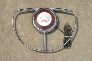 NICE 1949 1950 DELUXE FORD HORN RING with Button & Wiring ...