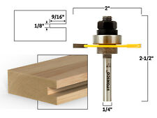 18 Slotting Cutter Router Bit Assembly 14 Shank Yonico 12103q