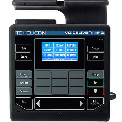 TC Helicon VoiceLive Touch 2 Vocal/Singer Harmony Effects Processor (voice live)