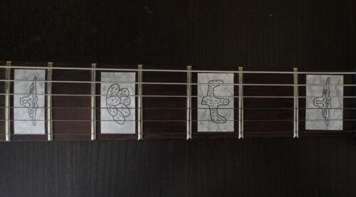 Mop Blocks Fretboard Marker Vinyl Inlay Decals for Gretsch BASS and GUITAR