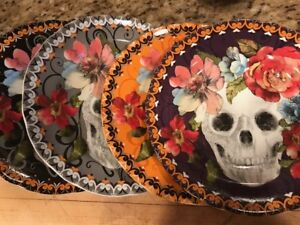 222 Fifth Marbella Skull Halloween Day Of Dead Salad