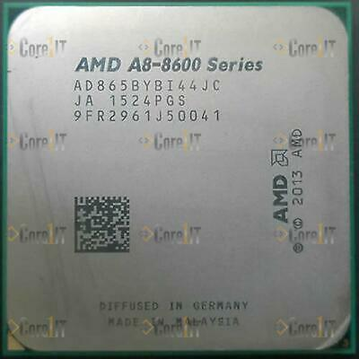 QUAD CORE PROCESSOR AD865BYBI44JC AMD A8 SERIES A8-8650B 3.2GHZ SOCKET FM2