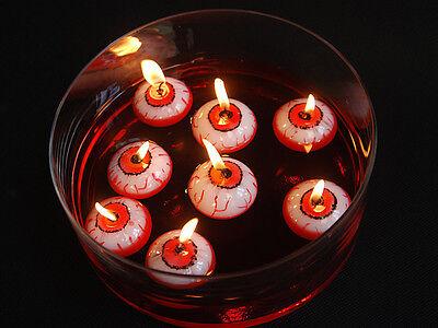 Halloween Decoration Party Eye / Eyeball Floating Candle Table Creepy Spooky