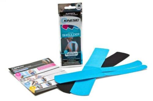 PACK OF 2 SHOULDER injuries /& support. KINESIO Pre Cut Kinesiology Tape