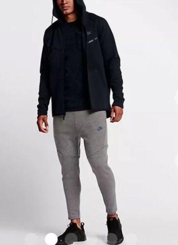 Fleece Tech capucha Fz Gym Windrunner Nike Pack Casual Top Nuevo Chaqueta con 685068088353 Negro Fg4Zq6BWt