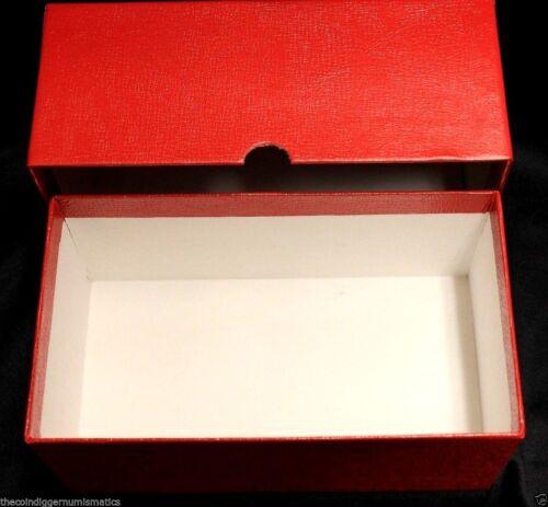 Currency Banknote Holder Storage Box 50 BCW Rigid Regular Toploader 100 Sleeve