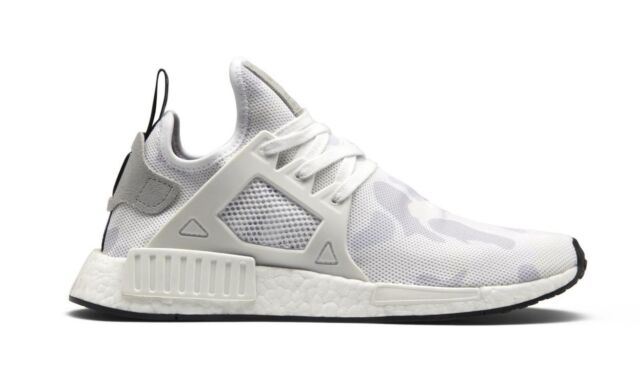 the best attitude 76ab8 1a156 Adidas NMD XR1 White White Black Duck Camo Running BA7233 (641) Men's Shoes
