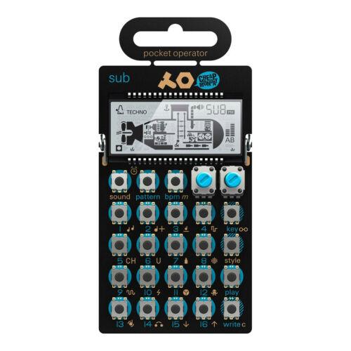 Teenage Engineering x Cheap Monday Pocket Operator PO-14 Sub ... Black // Blue